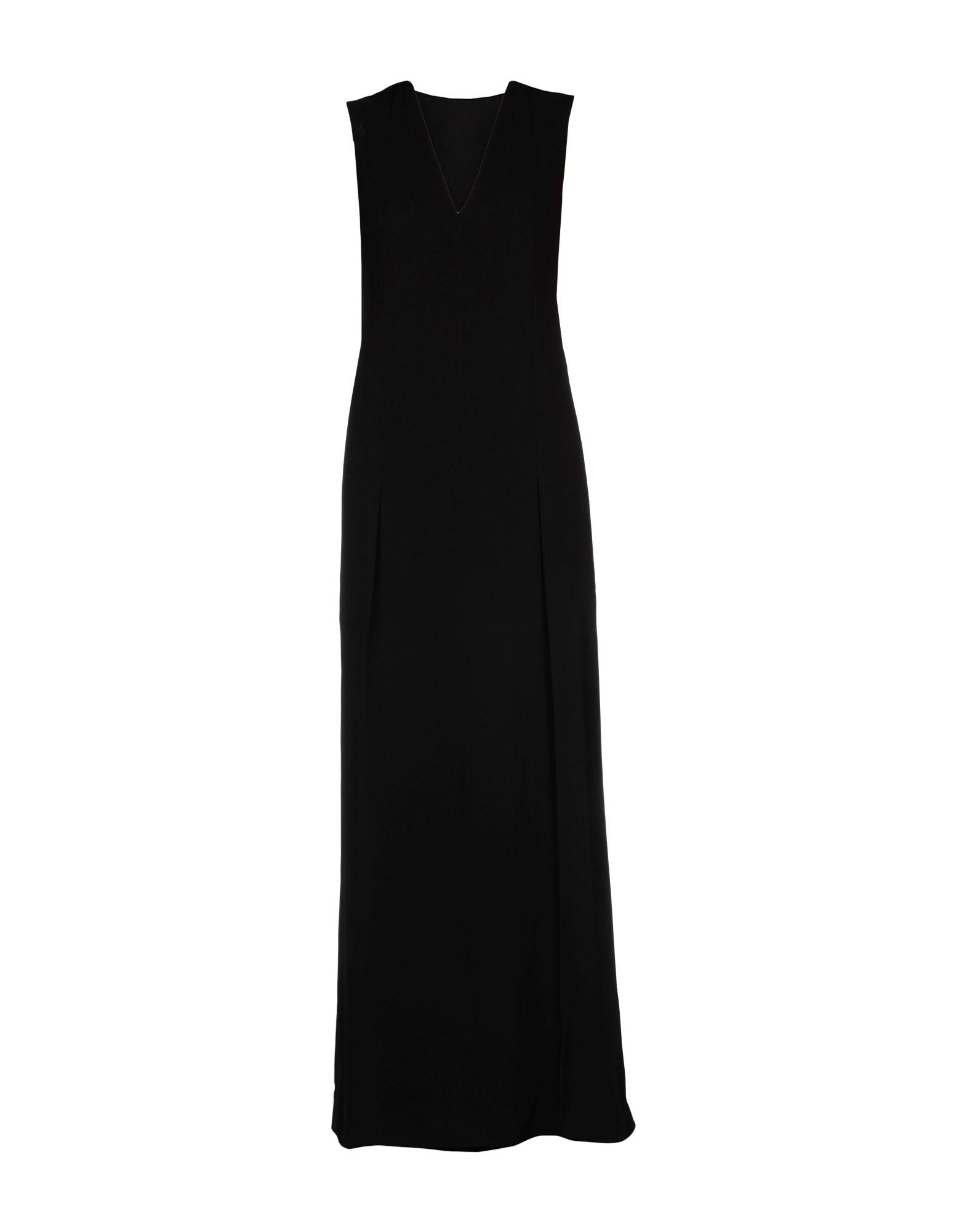 Фото MAISON MARGIELA Длинное платье. Купить с доставкой