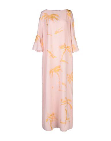 Фото - Женское длинное платье MUTADESIGN by ODILE ORSI розового цвета