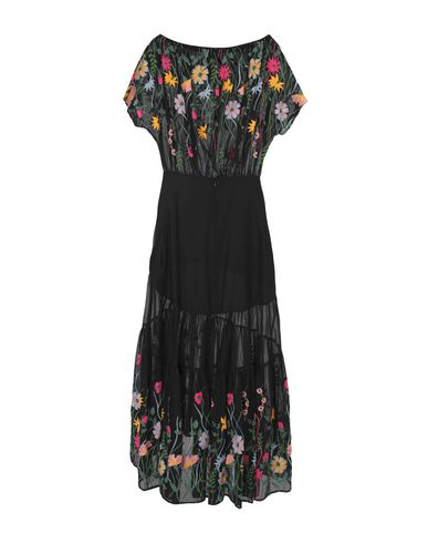 Фото 2 - Женское длинное платье BLACK CORAL черного цвета