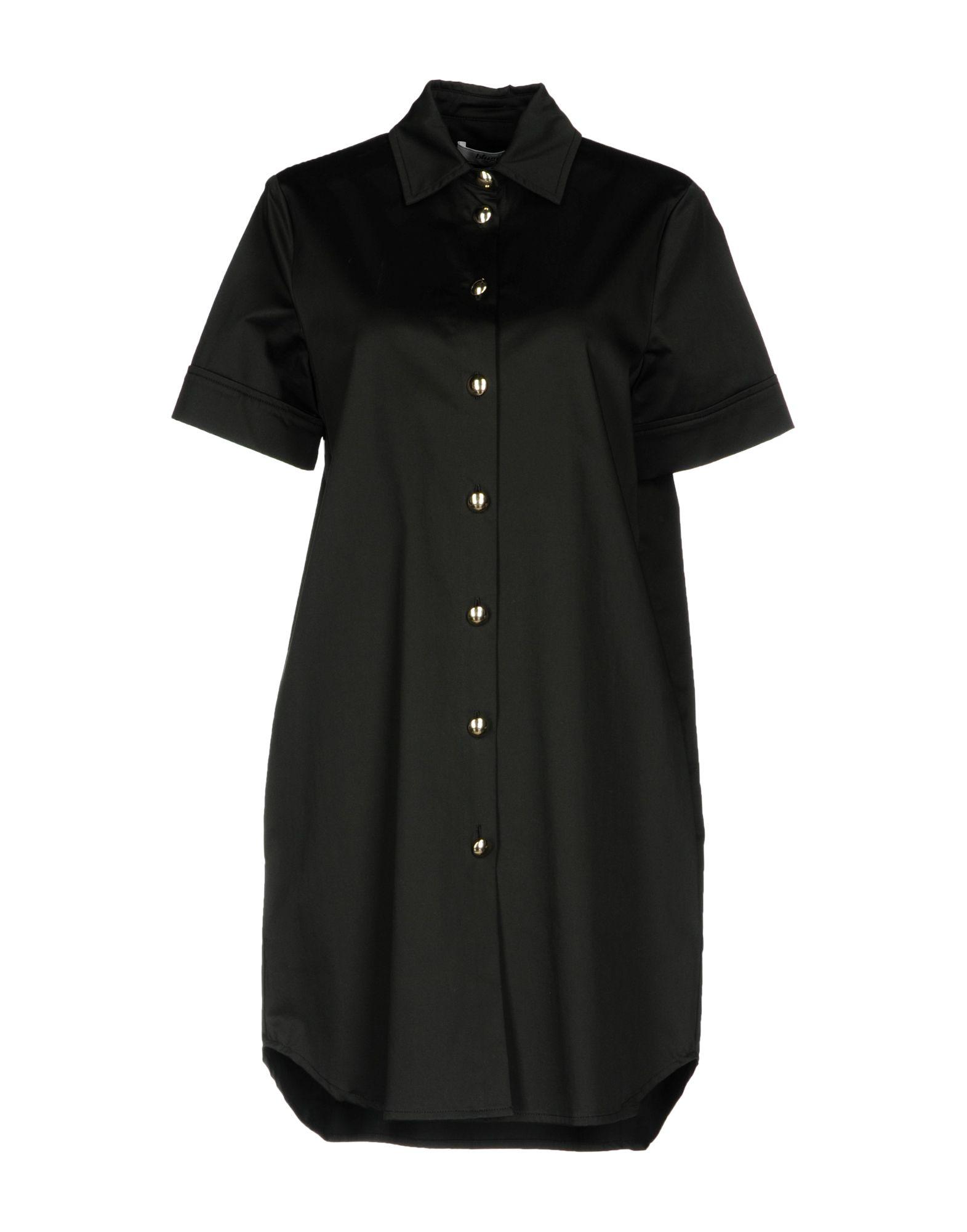 BLUGIRL BLUMARINE Короткое платье рубашка blugirl рубашка
