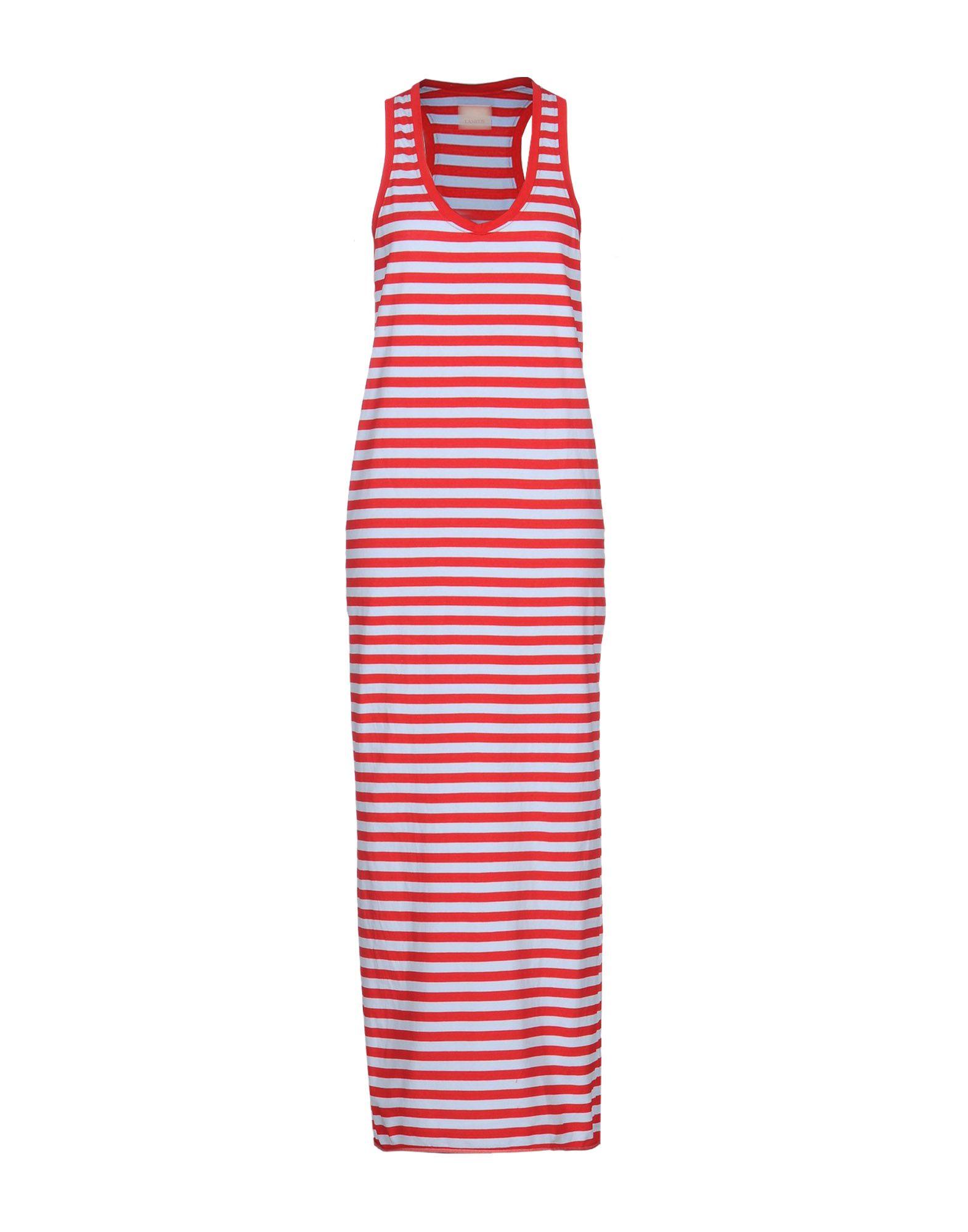 LANEUS Длинное платье