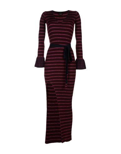Фото - Женское длинное платье  цвет баклажанный