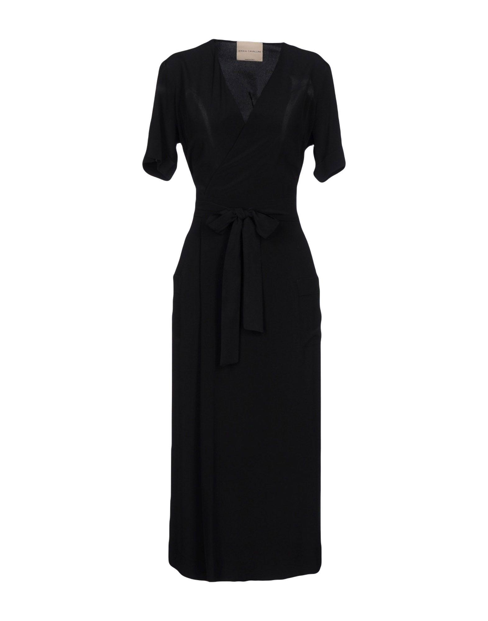 ERIKA CAVALLINI Платье длиной 3/4 цены онлайн