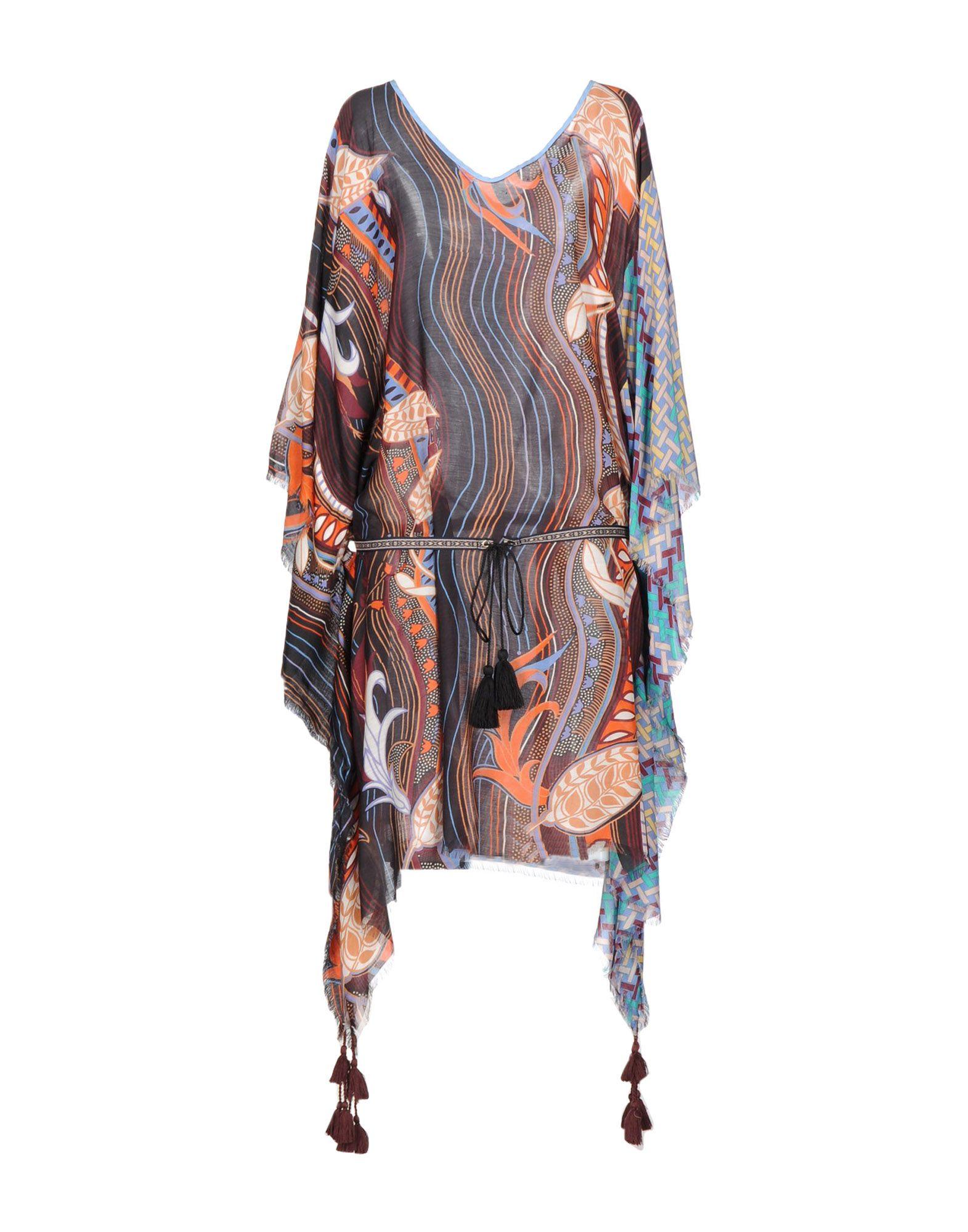 100X200 CENTOXDUECENTO Платье до колена 100x200 centoxduecento пляжное платье