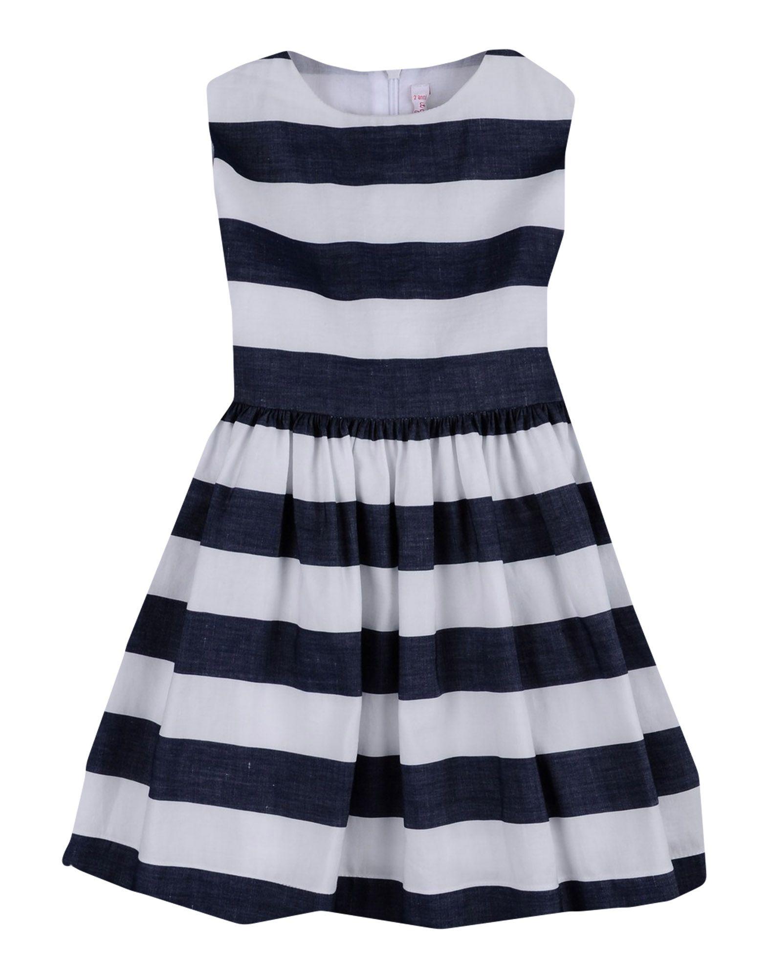 IL GUFO Платье il gufo платье в контрастную полоску
