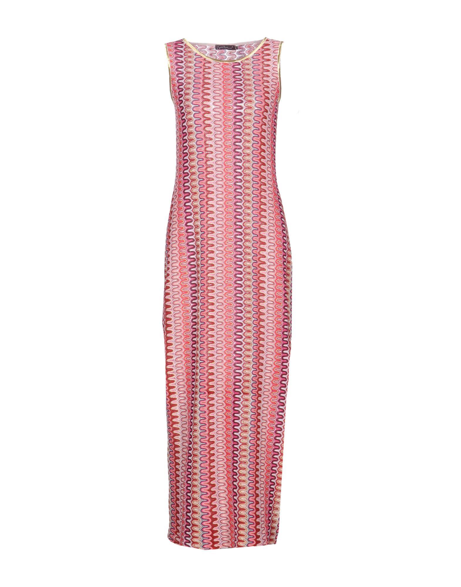 PIERRE MANTOUX Длинное платье