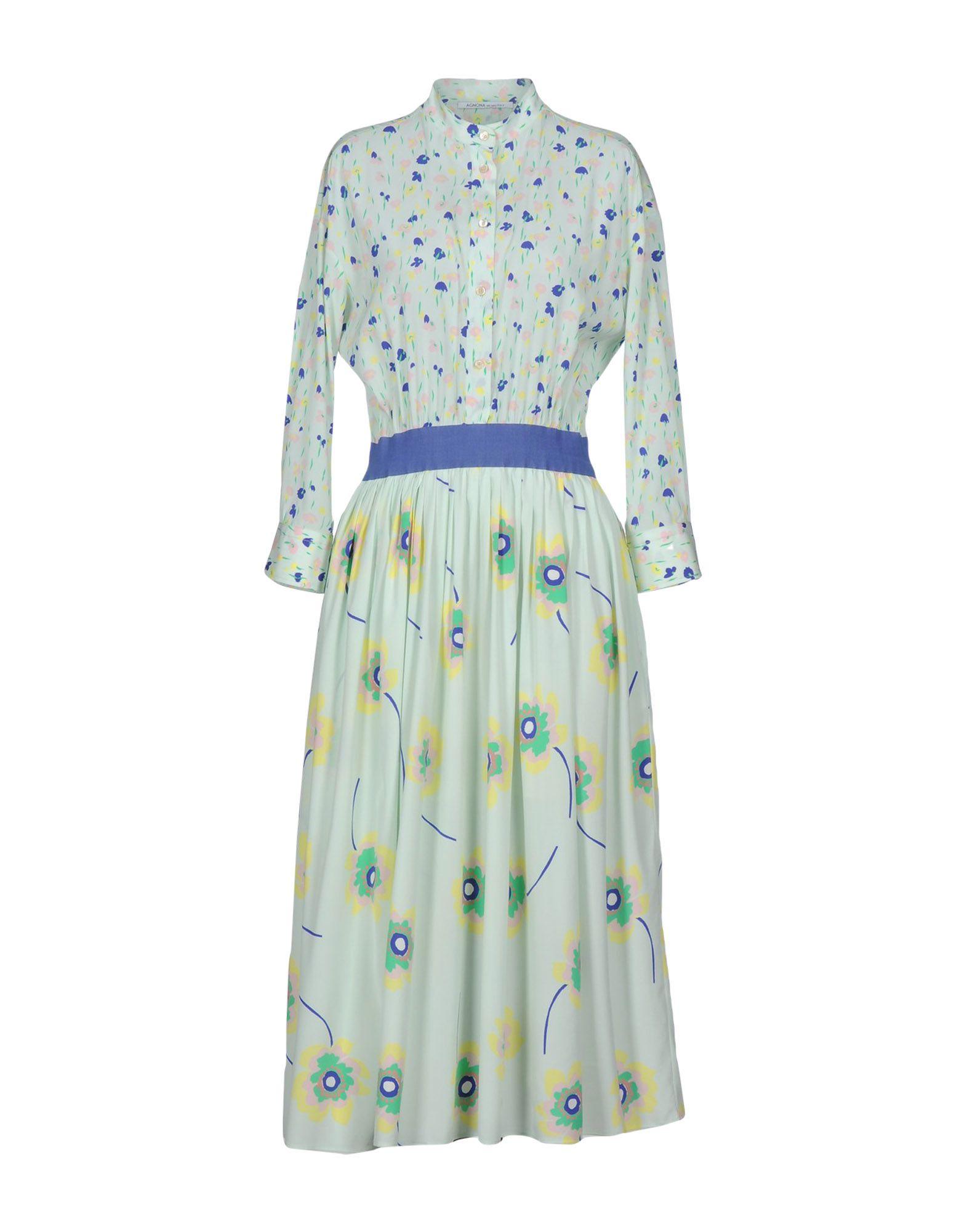 где купить AGNONA Платье длиной 3/4 по лучшей цене