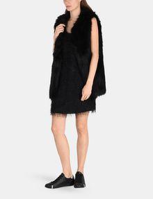ARMANI EXCHANGE GLITTER FRINGE SHEATH DRESS Mini dress Woman a