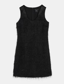ARMANI EXCHANGE GLITTER FRINGE SHEATH DRESS Mini dress Woman b