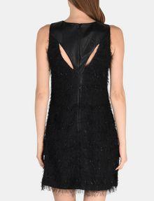 ARMANI EXCHANGE GLITTER FRINGE SHEATH DRESS Mini dress Woman r