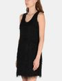 ARMANI EXCHANGE GLITTER FRINGE SHEATH DRESS Mini dress Woman d