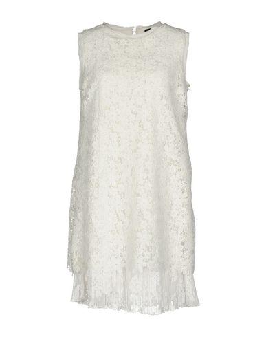Фото - Женское короткое платье ERMANNO DI ERMANNO SCERVINO белого цвета