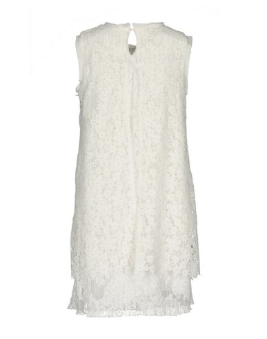 Фото 2 - Женское короткое платье ERMANNO DI ERMANNO SCERVINO белого цвета