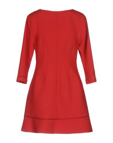 Фото 2 - Женское короткое платье ERMANNO DI ERMANNO SCERVINO красного цвета