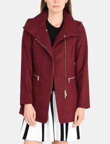 ARMANI EXCHANGE FUNNELNECK ASYMMETRICAL JACKET Jacket Woman f