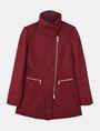 ARMANI EXCHANGE FUNNELNECK ASYMMETRICAL JACKET Jacket Woman b