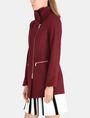 ARMANI EXCHANGE FUNNELNECK ASYMMETRICAL JACKET Jacket Woman d