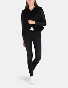 ARMANI EXCHANGE SPARKLE FRINGE CASCADE JACKET Jacket Woman a