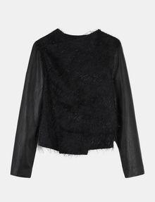 ARMANI EXCHANGE SPARKLE FRINGE CASCADE JACKET Jacket Woman b