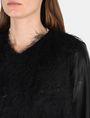ARMANI EXCHANGE SPARKLE FRINGE CASCADE JACKET Jacket Woman e