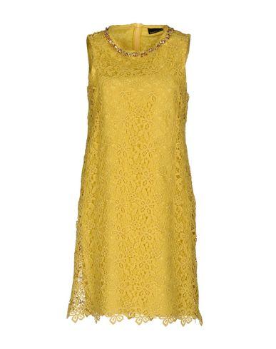 Фото - Женское короткое платье ERMANNO DI ERMANNO SCERVINO желтого цвета