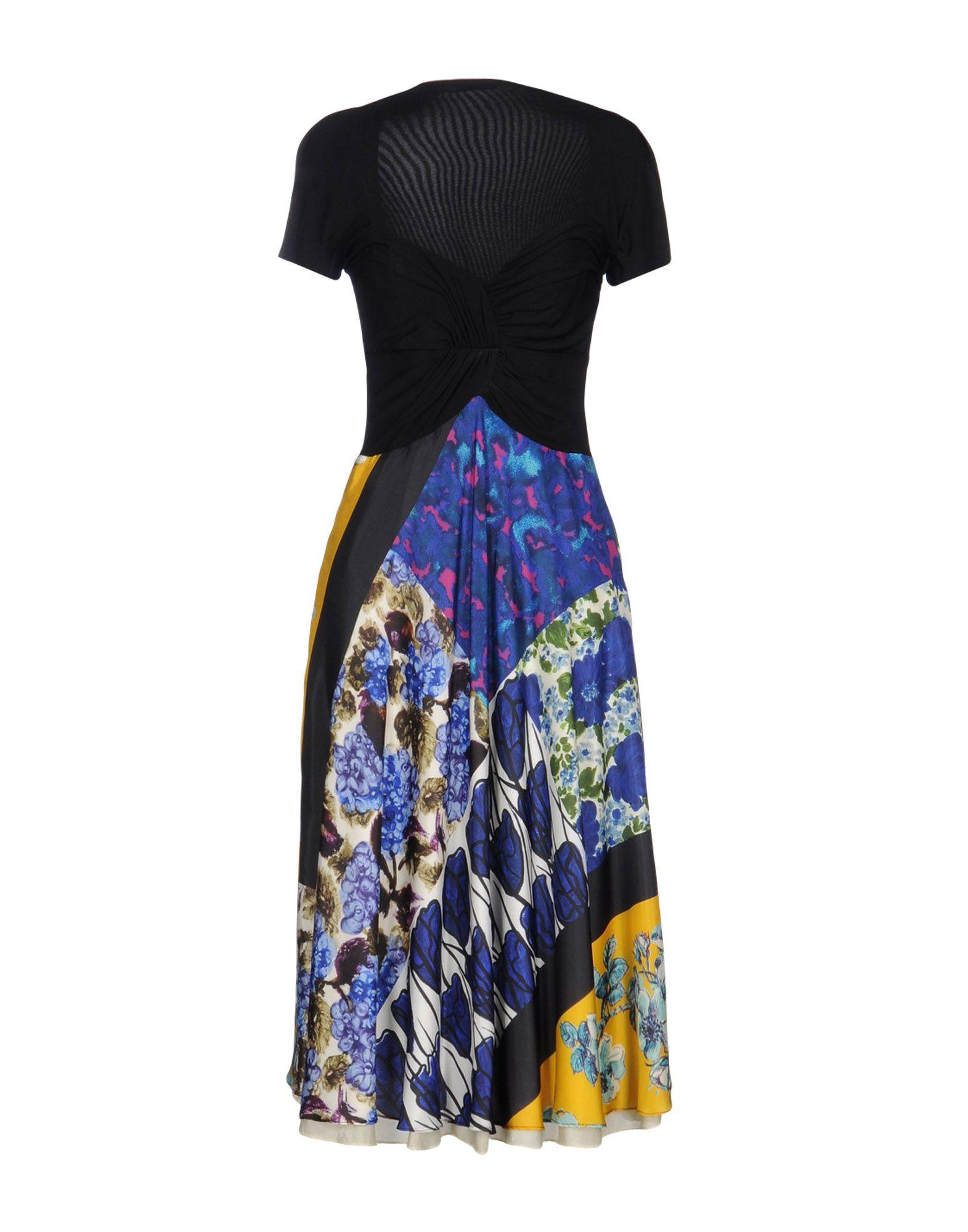 MARIELLA BURANI Платье длиной 3/4 платье mariella burani для девочки цвет белый