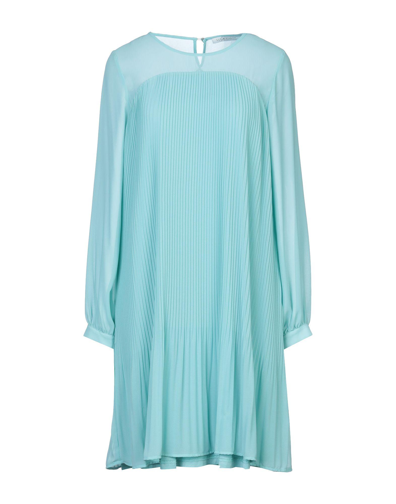 LUCKYLU Milano Короткое платье платье xs milano платье