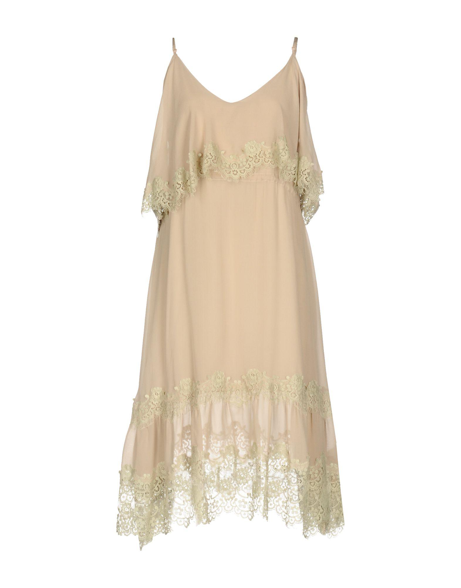 GOLD CASE Платье до колена just in case платье до колена