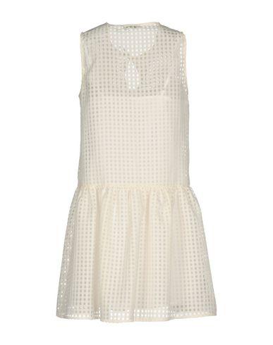 Фото 2 - Женское короткое платье RUE•8ISQUIT цвет слоновая кость