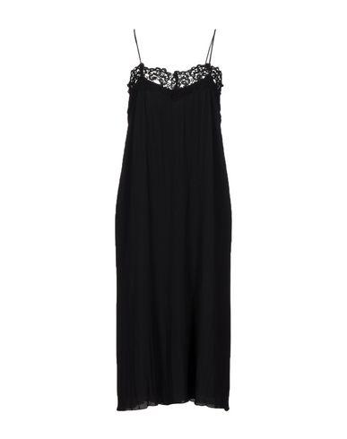 Фото - Платье до колена от WILD PONY черного цвета