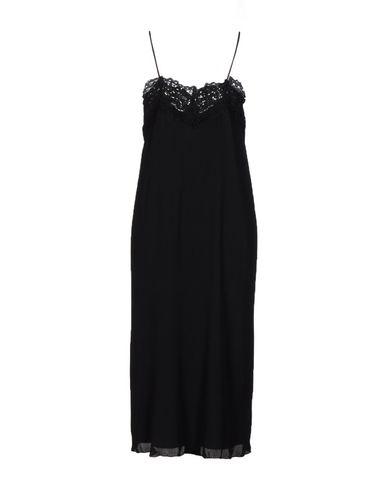 Фото 2 - Платье до колена от WILD PONY черного цвета
