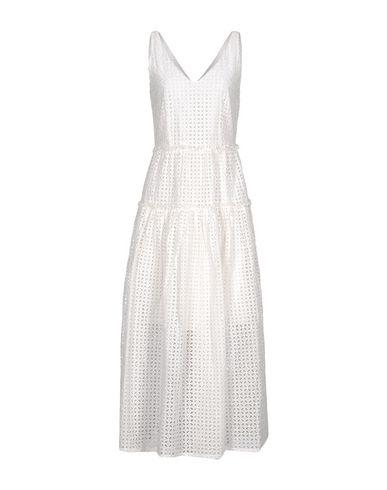 Фото - Женское длинное платье  белого цвета
