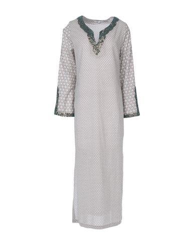 Фото - Женское короткое платье GAZEL светло-серого цвета