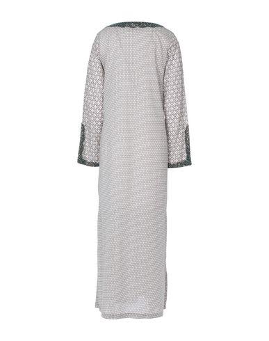 Фото 2 - Женское короткое платье GAZEL светло-серого цвета