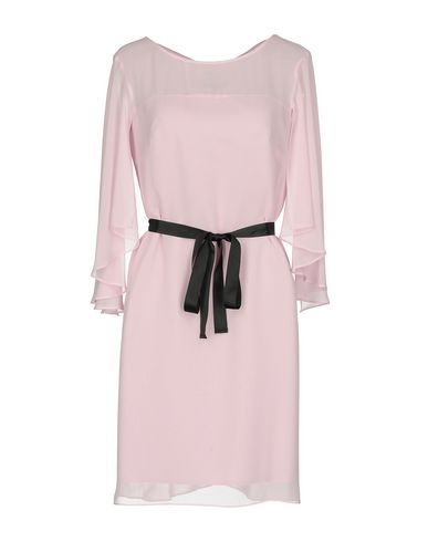 Фото - Женское короткое платье KITTE розового цвета