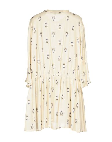 Фото 2 - Женское короткое платье  цвет слоновая кость