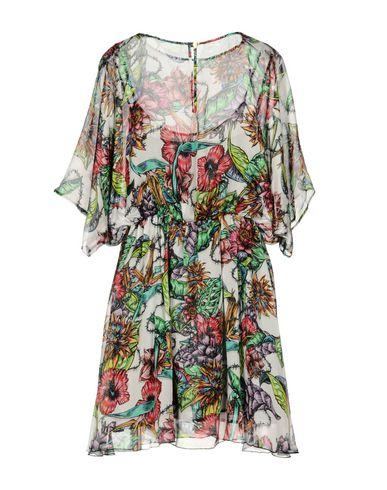 Фото 2 - Женское короткое платье MARCO BOLOGNA белого цвета