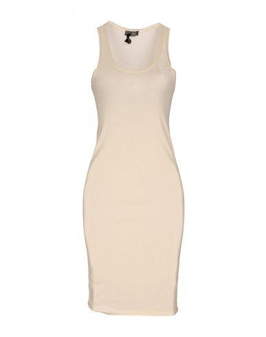 Фото - Женское короткое платье SOALLURE цвет слоновая кость