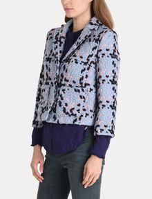 ARMANI EXCHANGE MODERN WOOL BOUCLE JACKET Jacket Woman d