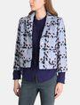 ARMANI EXCHANGE MODERN WOOL BOUCLE JACKET Jacket Woman f