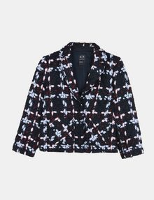 ARMANI EXCHANGE MODERN WOOL BOUCLE JACKET Jacket Woman b