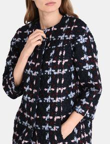 ARMANI EXCHANGE MODERN WOOL BOUCLE COAT Coat Woman e