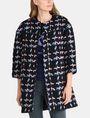 ARMANI EXCHANGE MODERN WOOL BOUCLE COAT Coat Woman f