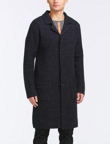 ARMANI EXCHANGE LONG SWEATER COAT Coat Man f