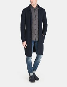 ARMANI EXCHANGE LONG SWEATER COAT Coat Man f