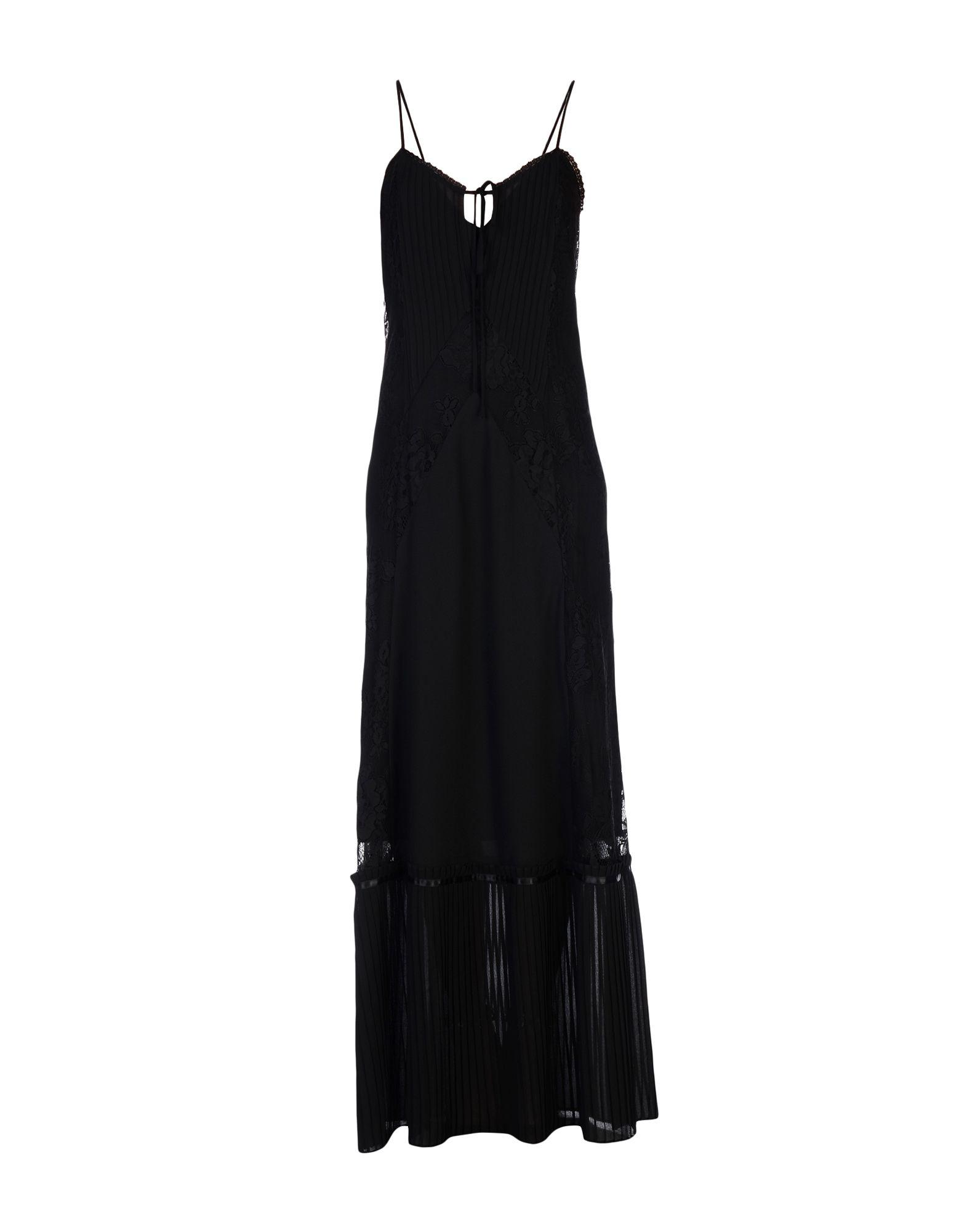 McQ Alexander McQueen Длинное платье anais gillian комбинация