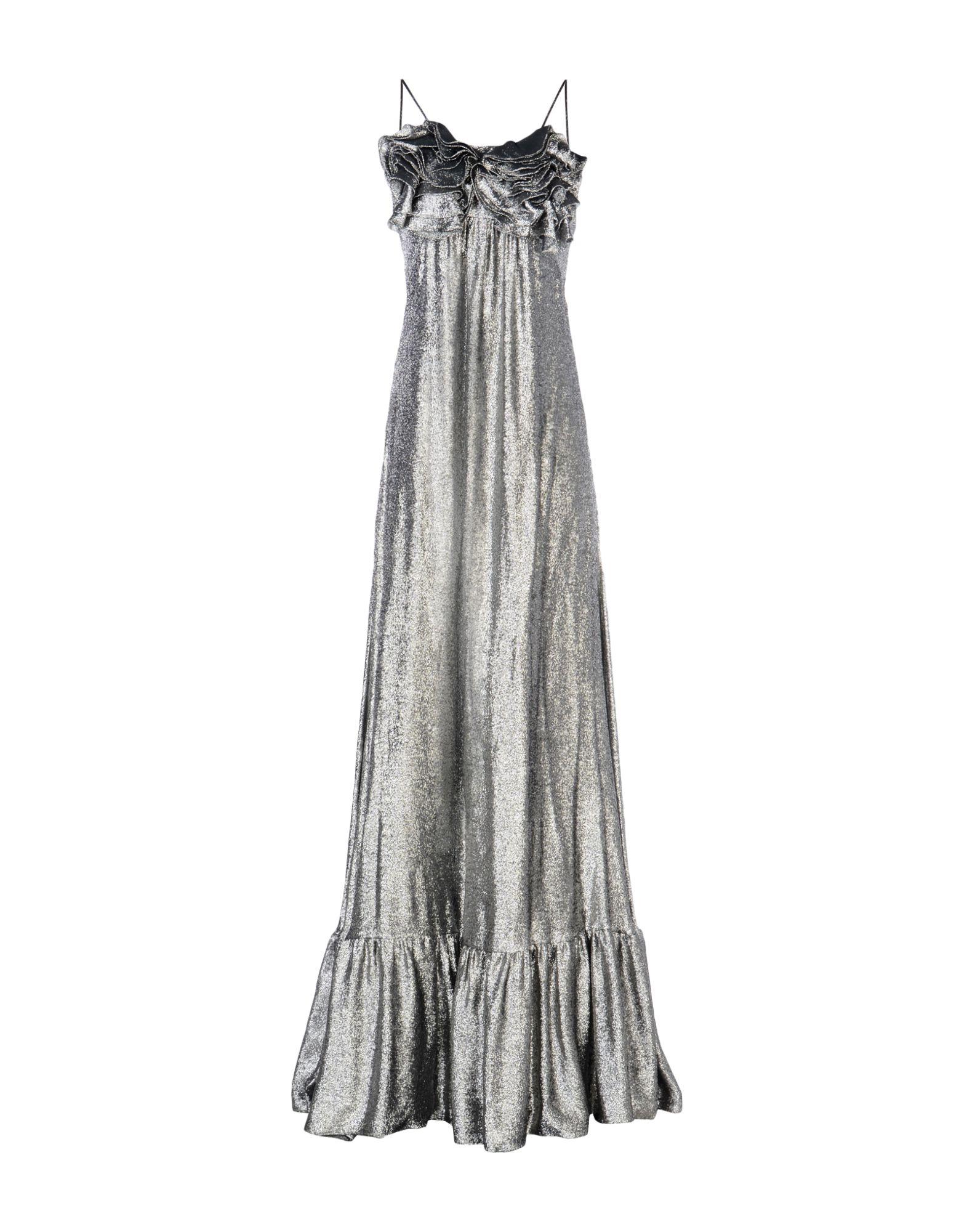 цена DANIELE CARLOTTA Длинное платье онлайн в 2017 году