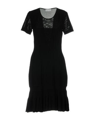 Фото - Женское короткое платье GIORGIO GRATI черного цвета