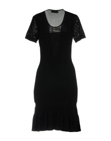 Фото 2 - Женское короткое платье GIORGIO GRATI черного цвета