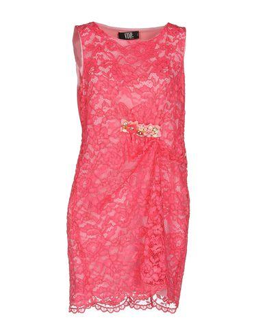 Фото - Женское короткое платье VDP COLLECTION цвета фуксия
